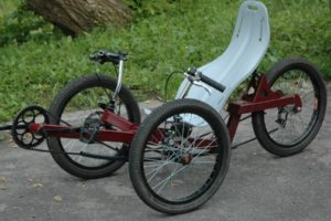 trike without suspension