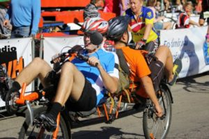 recumbent tandem competition